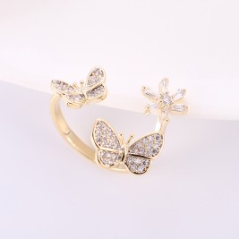 Inel Fluturi gold