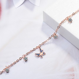 Bratara Fluture sapphire