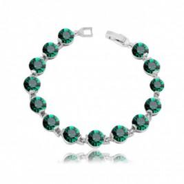Bratara Ines emerald