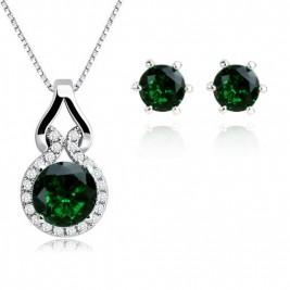 Set Simona emerald