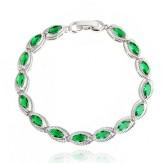 Bratara Sindi emerald