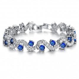 Bratara Charina blue