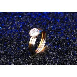 Inel Cercuri aurii