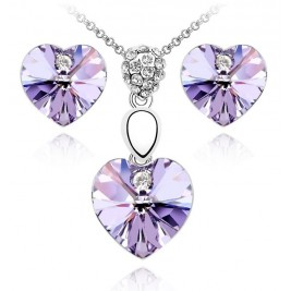 Set Romantika amethyst