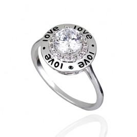 Inel Love silver