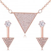 Set Flavia roze gold