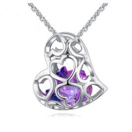 Colier Tifany violet