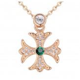 Colier Malta emerald