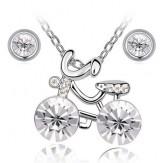 Set Bike crystal