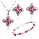 Set Sindi lux ruby