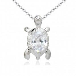 Colier Broască țestoasă crystal