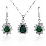 Set Kosara emerald
