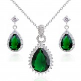 Set Juli emerald