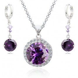 Set Ines violet