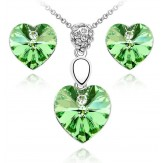 Set Romantika peridot