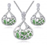 Set Beatris peridot