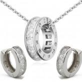 Set Ema silver