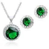 Set Iness emerald