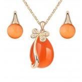 Set Indira orange