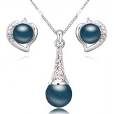Set Perla blue