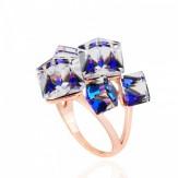 Inel Ramona blue