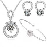 Set Chiara lux silver