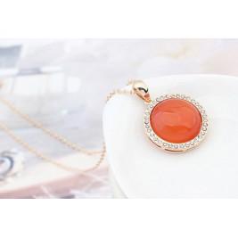 Colier Editta orange