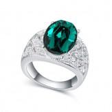 Inel Caprice emerald