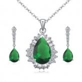 Set Hillary emerald