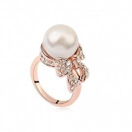 Inel perla gold
