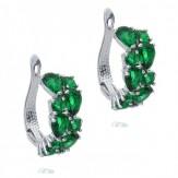 Cercei Brita emerald