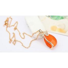 Colier Indira orange