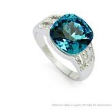 Inel Poline blue