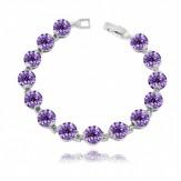 Bratara Ines violet