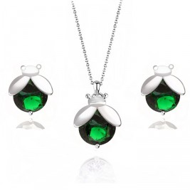 Set buburuze emerald