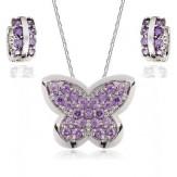 Set Fluturi violet