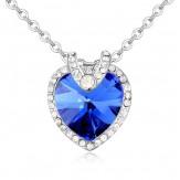 Colier Natalie sapphire