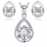 Set Ornela crystal