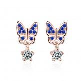 Cercei Butterfly sapphire