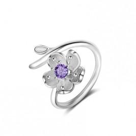 Inel Florina violet