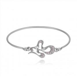 Bratara Ivian silver