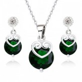 Set Adelin emerald