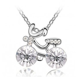 Colier Bike crystal