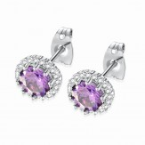 Cercei Zara purple