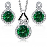 Set Samiyn emerald