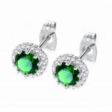 Cercei Zara emerald