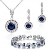 Set Ines lux sapphire