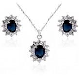 Set Kontesa sapphire
