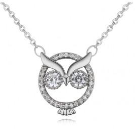 Colier Bufnita silver