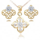 Set Flora crystal